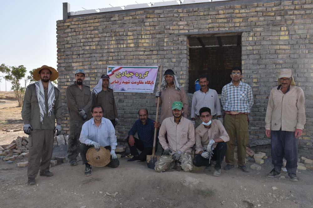 گزارش تصویری اردوی جهادی پایگاه مقاومت شهید رضایی