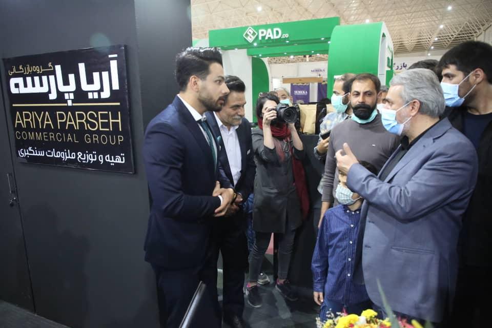 بازدید وزیر صمت از سیزدهمین نمایشگاه بین المللی سنگ ایران در محلات